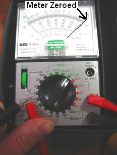Using An Ohmmeter Guide