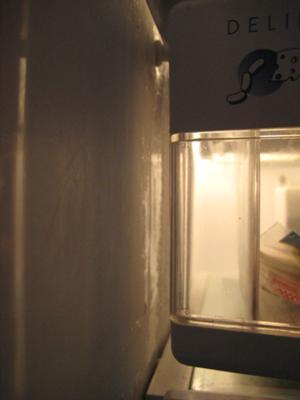 Condensation Inside Refrigerator