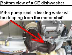 GE Dishwasher Pump Leaking Repair Guide