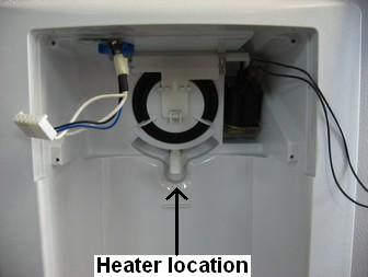 ge refrigerators not dispensing water once the housing is off you should see the dispenser water tube the heater is installed just below this tube the heater will be shaped to fit inside the