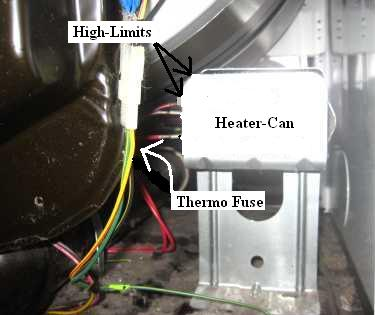 heaterlocations whirlpool dryer no heat repair guide wiring diagram for whirlpool dryer at soozxer.org