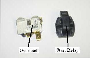 Older Kenmore Refridgerator Not Cooling Thermal Overload