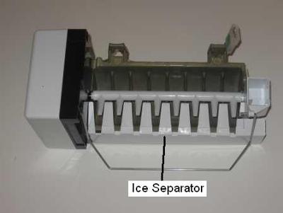 Paddle On Ice Maker Freezing