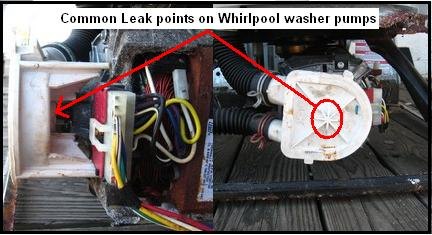 Whirlpool Washer Leaking Repair Guide