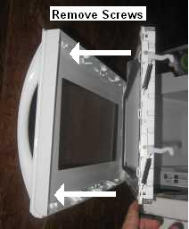 Ge Spacesaver Microwave Handle Replacement