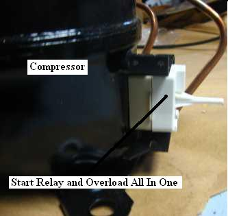 ge refrigerator compressor wiring diagram ge image refrigerator not cooling repair guide on ge refrigerator compressor wiring diagram