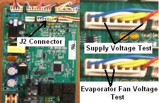 GE Refrigerator Fan Motor Diagnostics