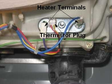 ge front load washer error codes disconnect the wires from the thermistor and test ohms across the two terminals at room temperature the thermistor should be approximately 12k ohms