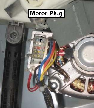 Ge washer motor test for Washing machine motor repair