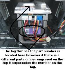 GE motor name tag